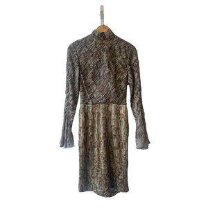 I. Magnin Vintage Smock Neck Dress